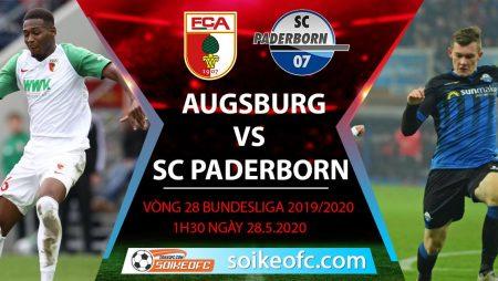 Soi kèo Augsburg vs SC Paderborn , 1h30 ngày 28/5/2020 – VĐQG Đức