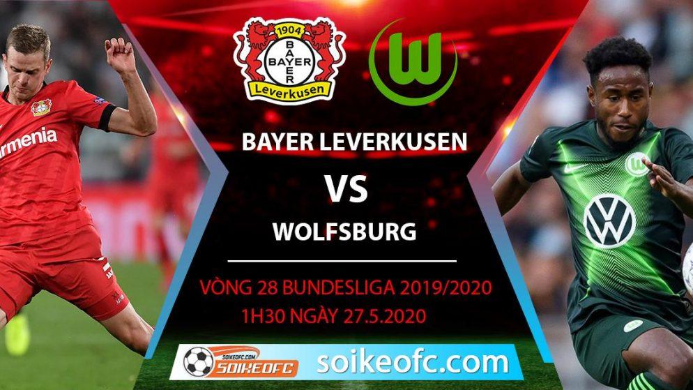 Soi kèo Bayer Leverkusen vs Wolfsburg , 1h30 ngày 27/5/2020 – VĐQG Đức