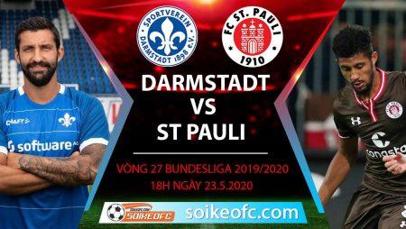 Soi kèo Darmstadt vs St Pauli , 18h ngày 23/5/2020 – Hạng 2 Đức