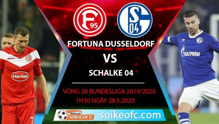 Soi kèo Fortuna Dusseldorf vs Schalke 04 , 1h30 ngày 28/5/2020 – VĐQG Đức