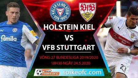 Soi kèo Holstein Kiel vs VFB Stuttgart , 18h30 ngày 24/5/2020 – Hạng 2 Đức