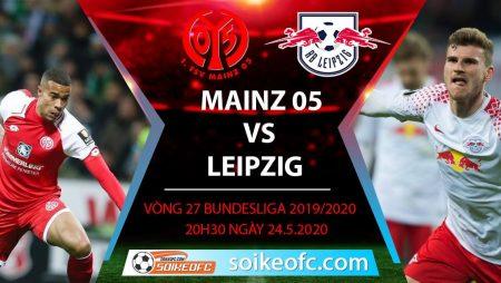 Soi kèo Mainz 05 vs Leipzig , 20h30 ngày 24/5/2020 – VĐQG Đức