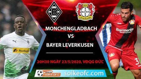 Soi kèo Monchengladbach vs Bayer Leverkusen , 20h30 ngày 23/5/2020 – VĐQG Đức