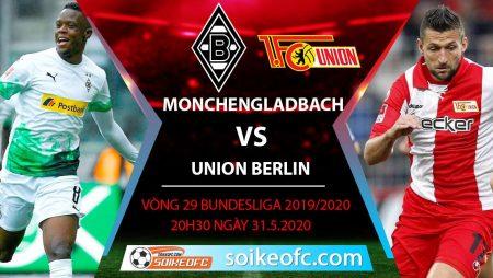 Soi kèo Monchengladbach vs Union Berlin , 20h30 ngày 31/5/2020 – VĐQG Đức