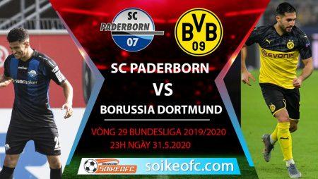 Soi kèo SC Paderborn vs Borussia Dortmund , 23h ngày 31/5/2020 – VĐQG Đức