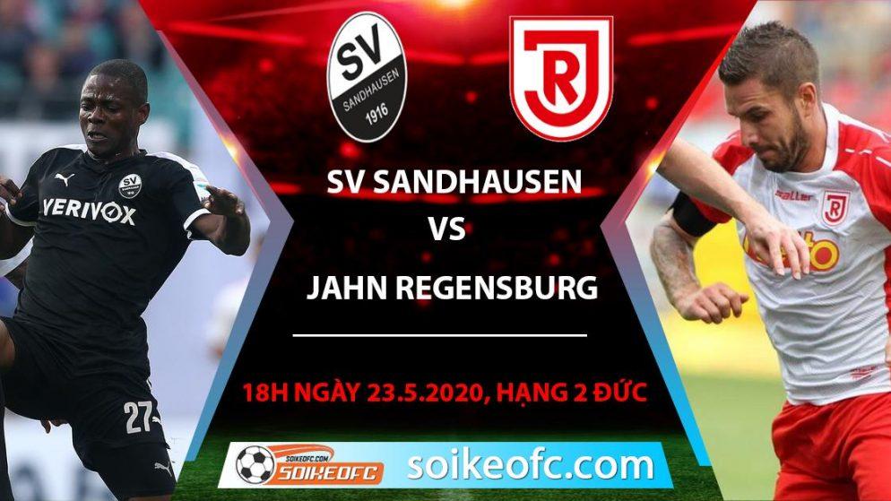 Soi kèo SV Sandhausen vs Jahn Regensburg , 18h ngày 23/5/2020 – Hạng 2 Đức