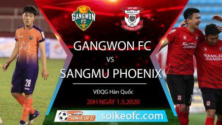 Soi kèo Sangju Sangmu Phoenix vs Gangwon FC, 12h ngày 16/5/2020