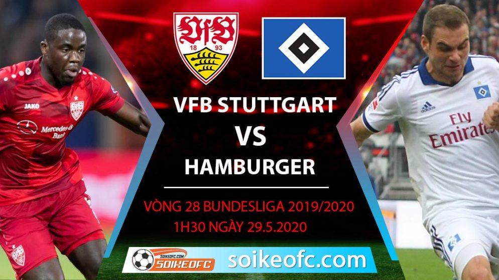 Soi kèo VFB Stuttgart vs Hamburger , 1h30 ngày 29/5/2020 – Giải hạng 2 Đức