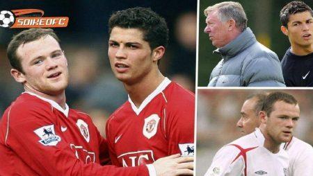 Ferguson giải quyết với Rooney và Ronaldo trong ngày đầu trở lại MU