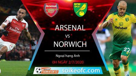 Soi kèo Arsenal vs Norwich, 0h ngày 2/7/2020 – Ngoại hạng Anh