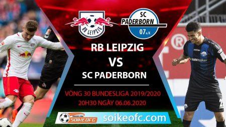 Soi kèo RB Leipzig vs SC Paderborn , 20h30 ngày 6/6/2020 – VĐQG Đức