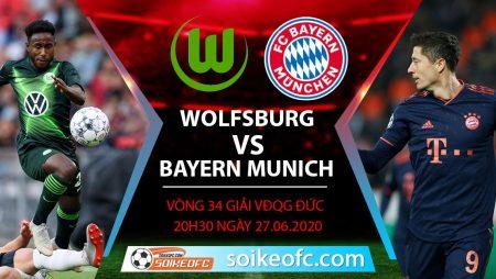 Soi kèo Wolfsburg vs Bayern Munich, 20h30 ngày 27/6/2020 – VĐQG Đức