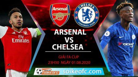 Soi kèo Arsenal vs Chelsea, 23h30 ngày 01/08/2020 – CK FA Cúp