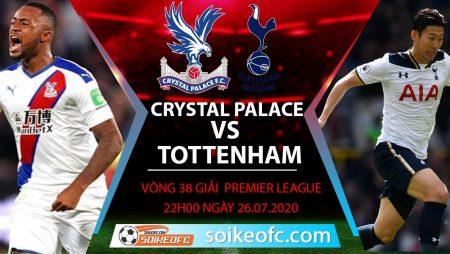 Soi kèo Crystal Palace vs Tottenham, 22h00 ngày 26/7/2020 – Ngoại hạng Anh