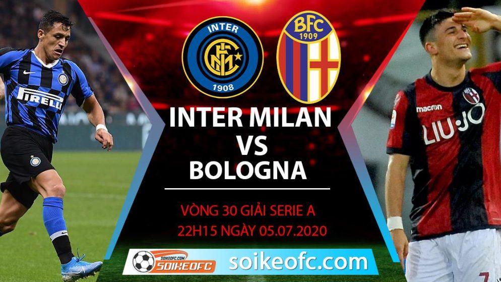 Soi kèo Inter Milan vs Bologna, 22h15 ngày 5/7/2020 – VĐQG Italia