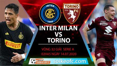 Soi kèo Inter Milan vs Torino, 2h45 ngày 14/7/2020 – VĐQG Italia