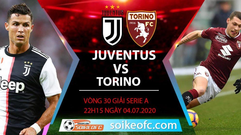 Soi kèo Juventus vs Torino, 22h15 ngày 4/7/2020 – VĐQG Italia