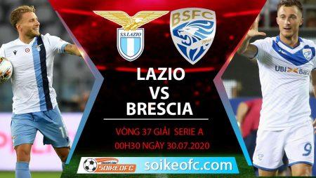 Soi kèo Lazio vs Brescia, 0h30 ngày 30/7/2020 – VĐQG Italia
