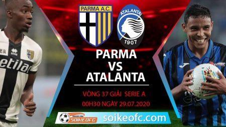 Soi kèo Parma vs Atalanta, 0h30 ngày 29/7/2020 – VĐQG Italia