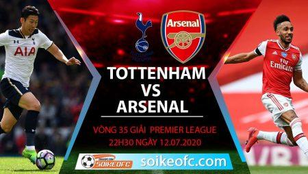 Soi kèo Tottenham vs Arsenal, 22h30 ngày 12/7/2020 – Ngoại hạng Anh