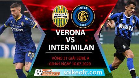 Soi kèo Hellas Verona vs Inter Milan, 02h45 ngày 10/7/2020 – VĐQG Italia