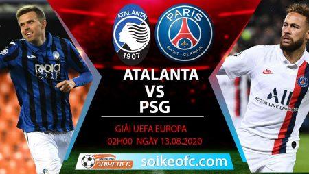 Soi kèo Atalanta vs PSG, 2h00 ngày 13/08/2020 – Champion League