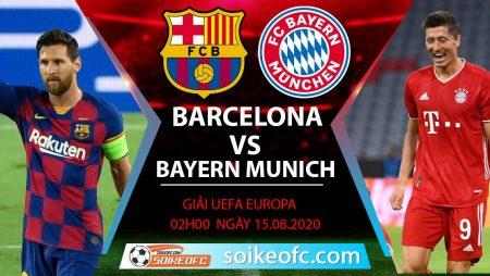 Soi kèo Barcelona vs Bayern Munich, 2h00 ngày 15/08/2020 – Champion League