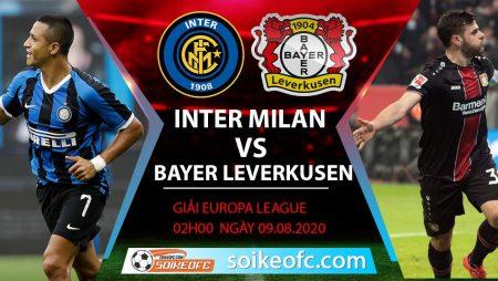 Soi kèo Inter Milan vs Bayer Leverkusen, 2h00 ngày 11/08/2020 – Europa League
