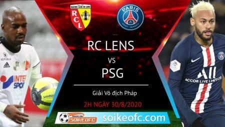 Soi kèo Lens vs PSG, 2h00 ngày 30/08/2020 – VĐQG Pháp