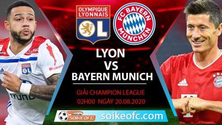 Soi kèo Lyon vs Bayern Munich, 2h00 ngày 20/08/2020 – Champion League