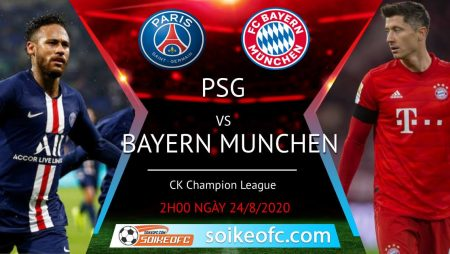 Soi kèo PSG vs Bayern Munich, 2h00 ngày 24/08/2020 – Champion League