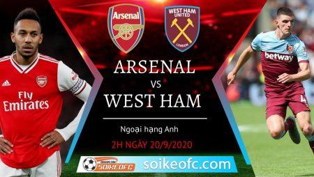 Soi kèo Arsenal vs West Ham, 2h00 ngày 20/09/2020 – Ngoại hạng Anh