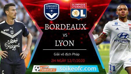 Soi kèo Bordeaux vs Lyon, 2h00 ngày 12/09/2020 – VĐQG Pháp