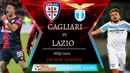 Soi kèo Cagliari vs Lazio, 23h00 ngày 26/09/2020 – Giải VĐQG Italia