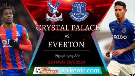 Soi kèo Crystal Palace vs Everton, 21h00 ngày 26/09/2020 – Ngoại hạng Anh