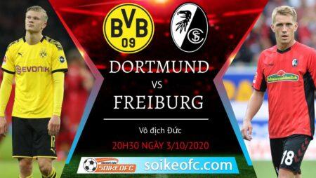 Soi kèo Dortmund vs Freiburg, 20h30 ngày 3/10/2020 – Giải VĐQG Đức