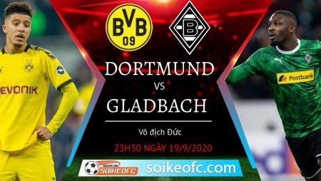 Soi kèo Dortmund vs M'Gladbach, 23h30 ngày 19/09/2020 – VĐQG Đức