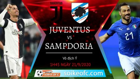 Soi kèo Juventus vs Sampdoria, 1h45 ngày 21/09/2020 – VĐQG Italia