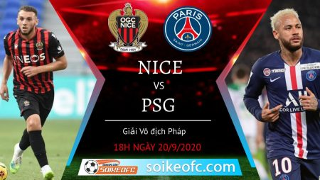 Soi kèo Nice vs PSG, 18h00 ngày 20/09/2020 – VĐQG Pháp