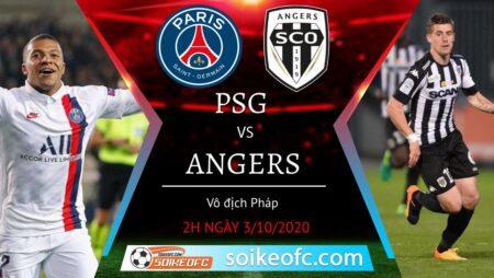 Soi kèo PSG vs Angers, 2h00 ngày 03/10/2020 – VĐQG Pháp