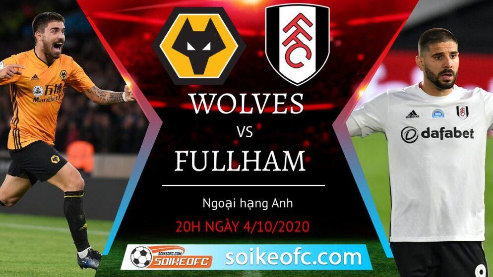 Soi kèo Wolves vs Fulham, 20h00 ngày 4/10/2020 – Giải Ngoại Hạng Anh