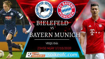 Soi kèo Arminia Bielefeld vs Bayern Munich, 23h30 ngày 17/10/2020 – VĐQG Đức