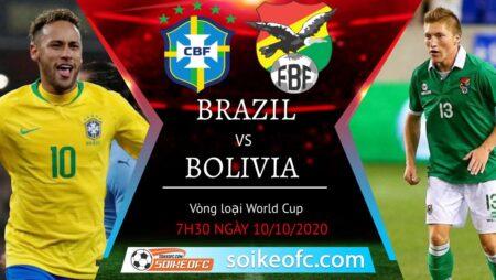 Soi kèo Brazil vs Bolivia, 7h30 ngày 10/10/2020 – Vòng loại World Cup