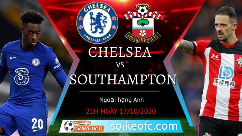 Soi kèo Chelsea vs Southampton, 21h00 ngày 17/10/2020 – Ngoại hạng Anh