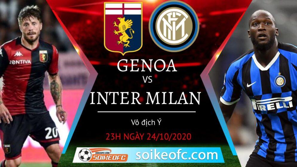 Soi kèo Genoa vs Inter Milan, 23h00 ngày 24/10/2020 – VĐQG Italia