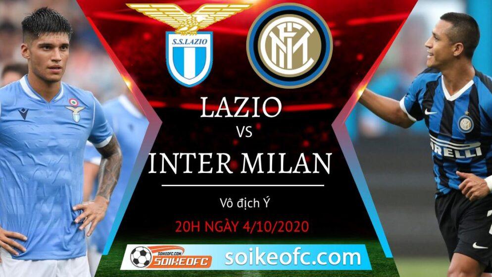 Soi kèo Lazio vs Inter Milan, 20h00 ngày 4/10/2020 – Giải VĐQG Italia
