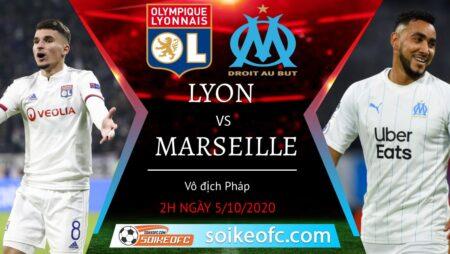 Soi kèo Lyon vs Marseille, 2h00 ngày 5/10/2020 – Giải VĐQG Pháp