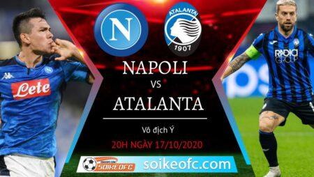 Soi kèo Napoli vs Atalanta, 20h00 ngày 17/10/2020 – VĐQG Italia