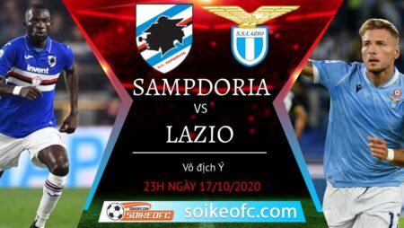 Soi kèo Sampdoria vs Lazio, 23h00 ngày 17/10/2020 – VĐQG Italia