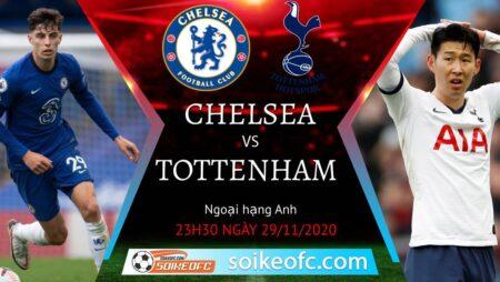 Soi kèo Chelsea vs Tottenham, 23h30 ngày 29/11/2020 – Ngoại Hạng Anh